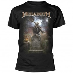 Tricou Megadeth: 35 Years Graveyard