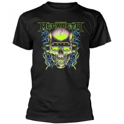 Tricou Megadeth: 35 Years Skull