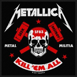 Patch Metallica: Metal Militia