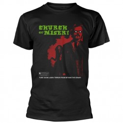 Tricou Church Of Misery: Rated R