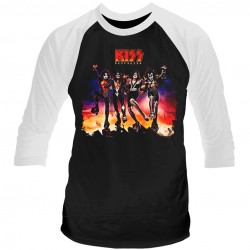 Tricou Maneca Lunga KISS: Destroyer