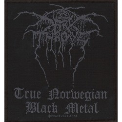 Patch Darkthrone: True Norwegian Black Metal