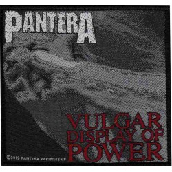 Patch Pantera: Vulgar Display Of Power