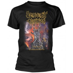 Tricou Malevolent Creation: The Ten Commandments