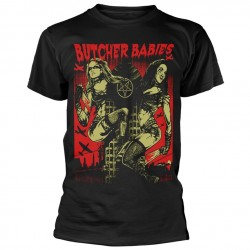 Tricou Butcher Babies: Tower Of Power