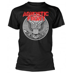 Tricou Agnostic Front: Against All Eagle