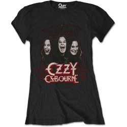 Tricou Dama Ozzy Osbourne: Crows And Bats
