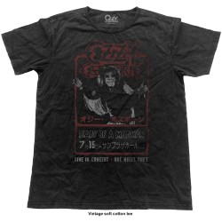 Tricou Ozzy Osbourne: Japan Flyer