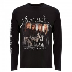 Tricou Maneca Lunga Metallica: Garage Cover