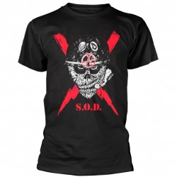Tricou S.O.D. (Stormtroopers Of Death): Scrawled Lightning