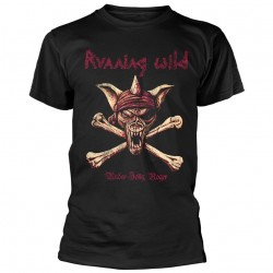 Tricou Running Wild: Under Jolly Roger (Crossbones)