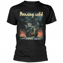Tricou Running Wild: Under Jolly Roger (Album)