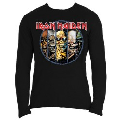 Tricou Maneca Lunga Iron Maiden: Eddie Evolution