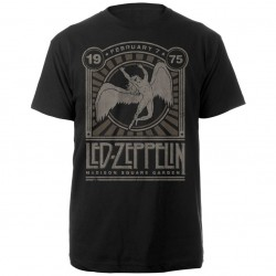 Tricou Led Zeppelin: Madison Square Garden 1975