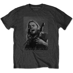 Tricou David Gilmour: On Microphone Half-Tone