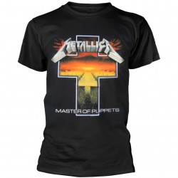 Tricou Metallica: Master Of Puppets Cross