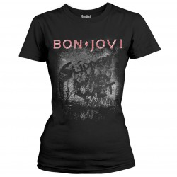 Tricou Dama Bon Jovi: Slippery When Wet Album