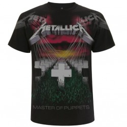 Tricou Metallica: Puppets Faded