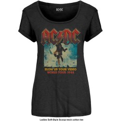 Tricou Dama AC/DC: Blow Up Your Video