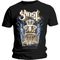 Tricou Ghost: Ceremony & Devotion