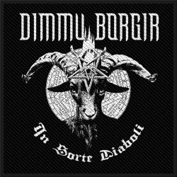 Patch Dimmu Borgir: In Sorte Diaboli