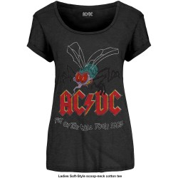 Tricou Dama AC/DC: Fly On The Wall