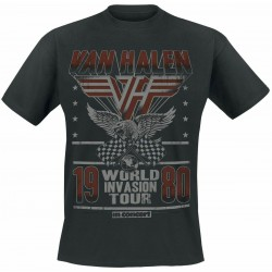 Tricou Van Halen: Invasion Tour '80