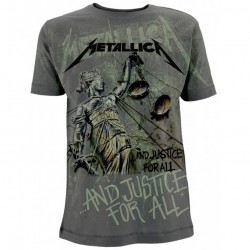 Tricou Metallica: And Justice For All Neon