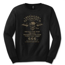 Tricou Maneca Lunga Avenged Sevenfold: Seize The Day