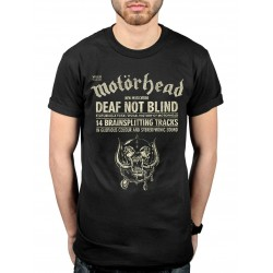 Tricou Motorhead: Deaf Not Blind