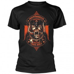 Tricou Motorhead: Orange Ace