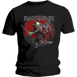 Tricou Iron Maiden: Trooper Red Sky