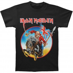Tricou Iron Maiden: Euro Tour