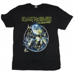 Tricou Iron Maiden: Live After Death