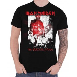 Tricou Iron Maiden: The Wicker Man Smoke