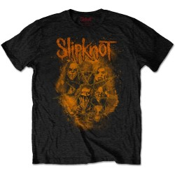 Tricou Slipknot: We Are Not Your Kind Orange