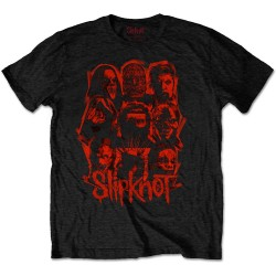 Tricou Slipknot: We Are Not Your Kind Red Patch