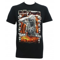Tricou Rob Zombie: Born To Go Insane