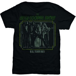 Tricou Alice Cooper: US Tour 1971