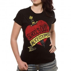 Tricou Dama Alice Cooper: School's Out