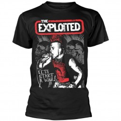 Tricou The Exploited: Let's Start A War