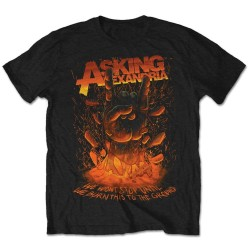 Tricou Asking Alexandria: Metal Hand