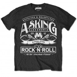Tricou Asking Alexandria: Rock N' Roll