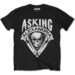 Tricou Asking Alexandria: Skull Shield