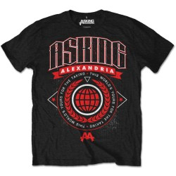 Tricou Asking Alexandria: This World