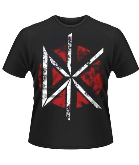 Tricou Unisex Dead Kennedys: Distressed DK Logo