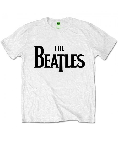Tricou Unisex The Beatles: Drop T Logo
