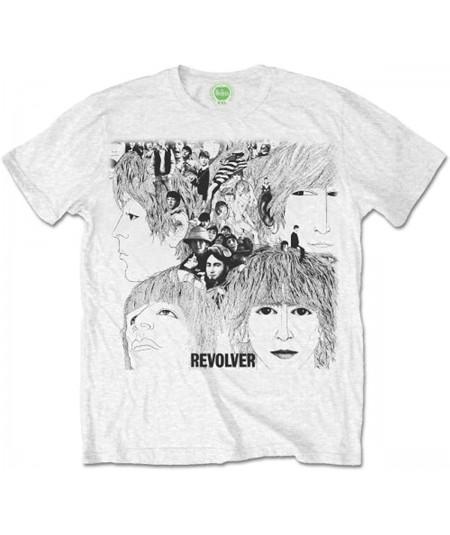 Tricou Unisex The Beatles: Revolver Album Cover