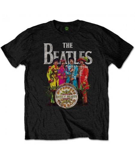 Tricou Unisex The Beatles: Sgt. Pepper