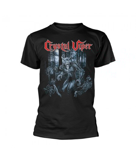 Tricou Unisex Crystal Viper: Wolf & The Witch
